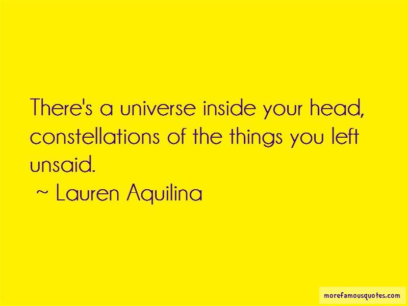 Lauren Aquilina Quotes