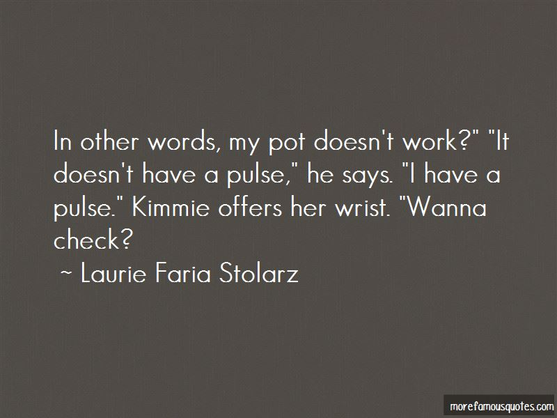 Laurie Faria Stolarz Quotes Pictures 4