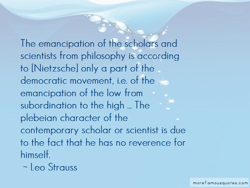 Leo Strauss Quotes Pictures 3