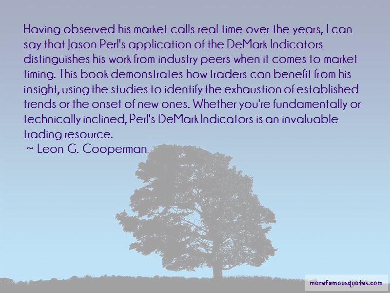Leon G. Cooperman Quotes Pictures 2