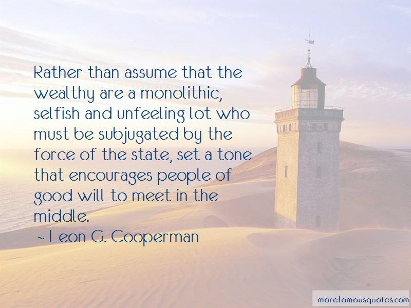 Leon G. Cooperman Quotes Pictures 3