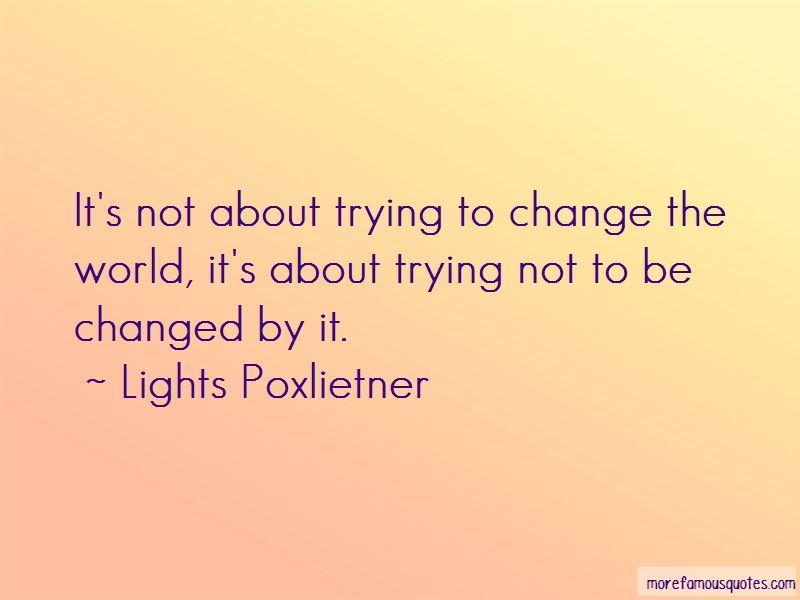 Lights Poxlietner Quotes Pictures 2
