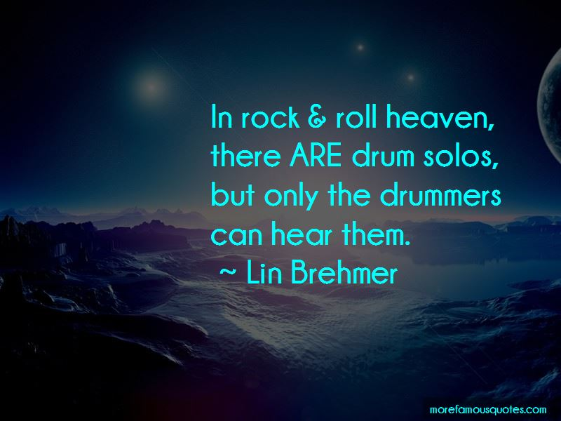 Lin Brehmer Quotes Pictures 2