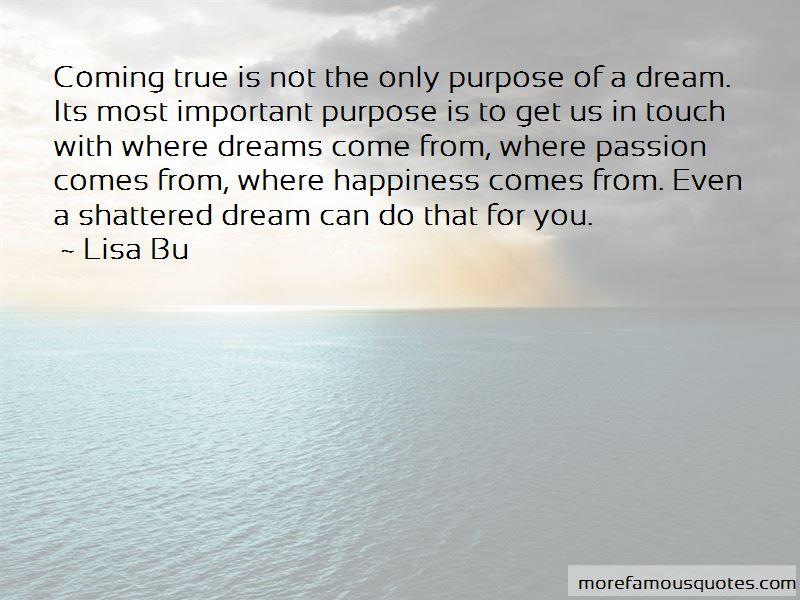 Lisa Bu Quotes