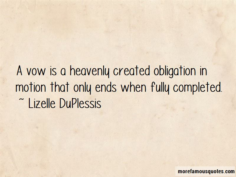 Lizelle DuPlessis Quotes