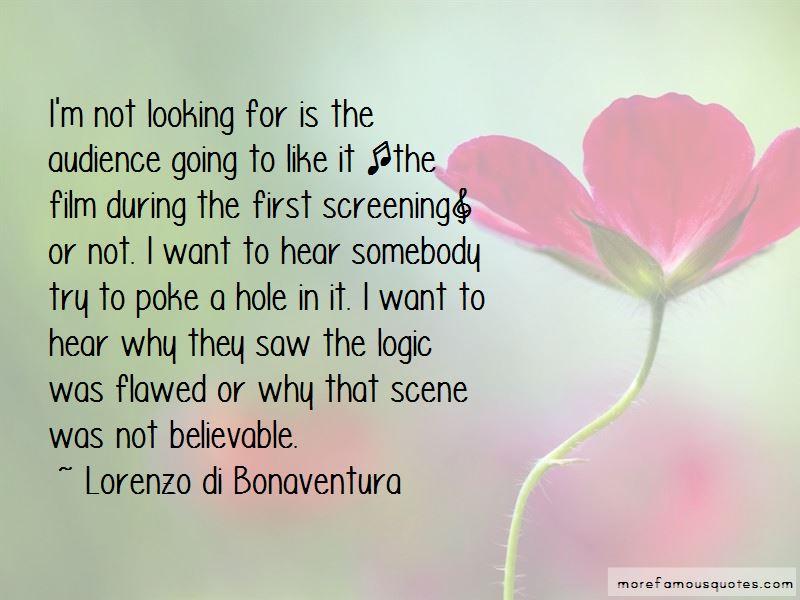 Lorenzo Di Bonaventura Quotes Pictures 4