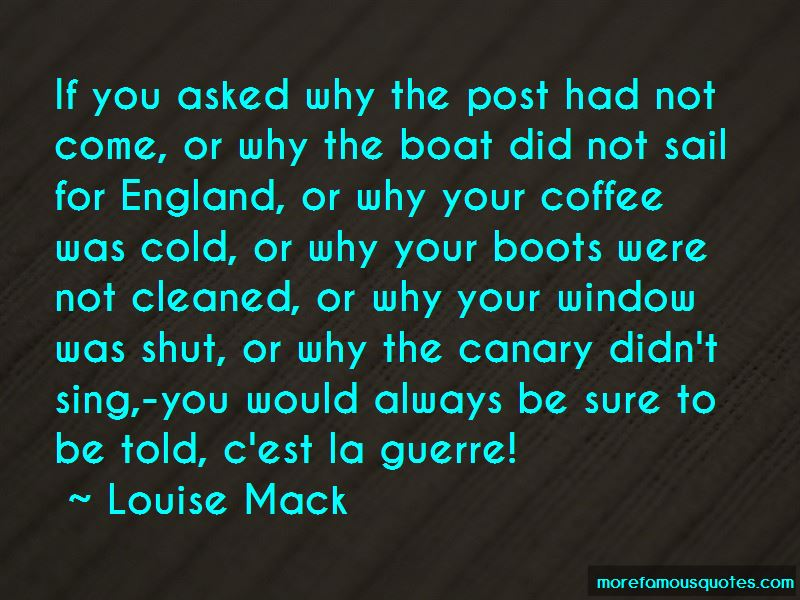 Louise Mack Quotes