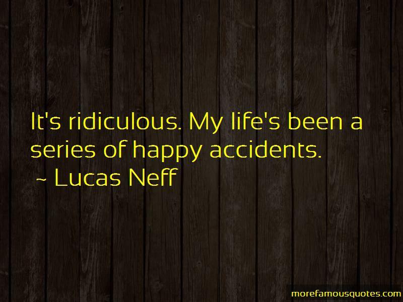 Lucas Neff Quotes Pictures 3