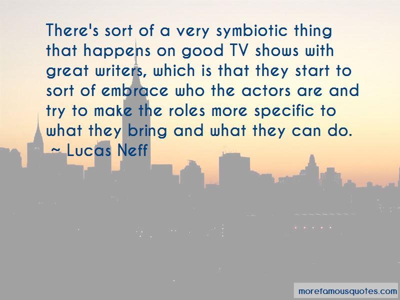 Lucas Neff Quotes Pictures 4