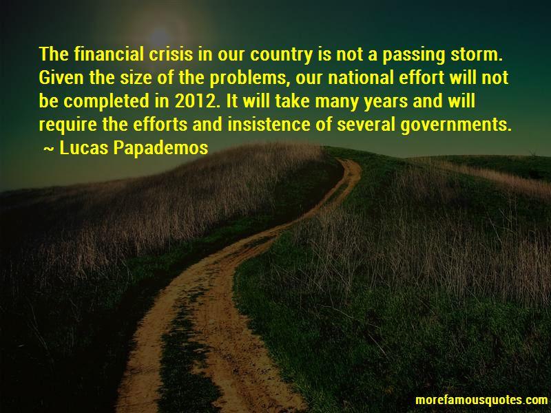 Lucas Papademos Quotes Pictures 4