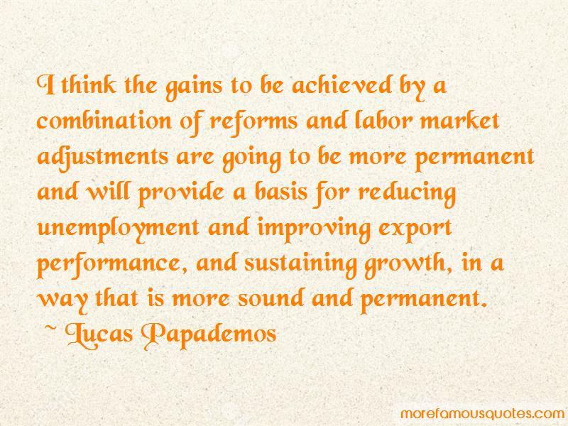Lucas Papademos Quotes