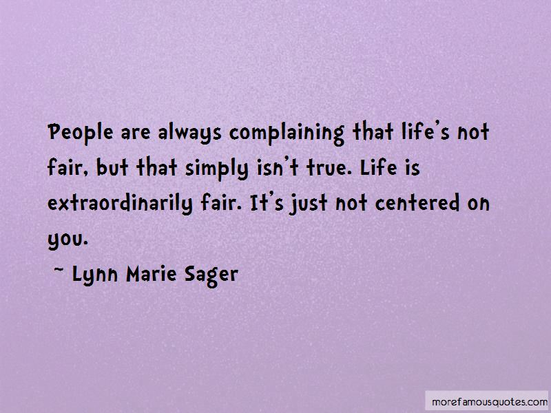 Lynn Marie Sager Quotes