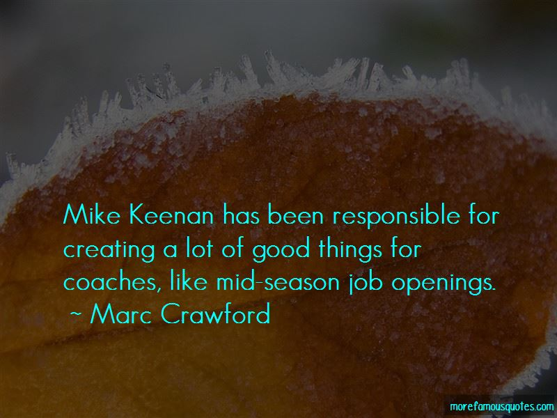 Marc Crawford Quotes Pictures 2