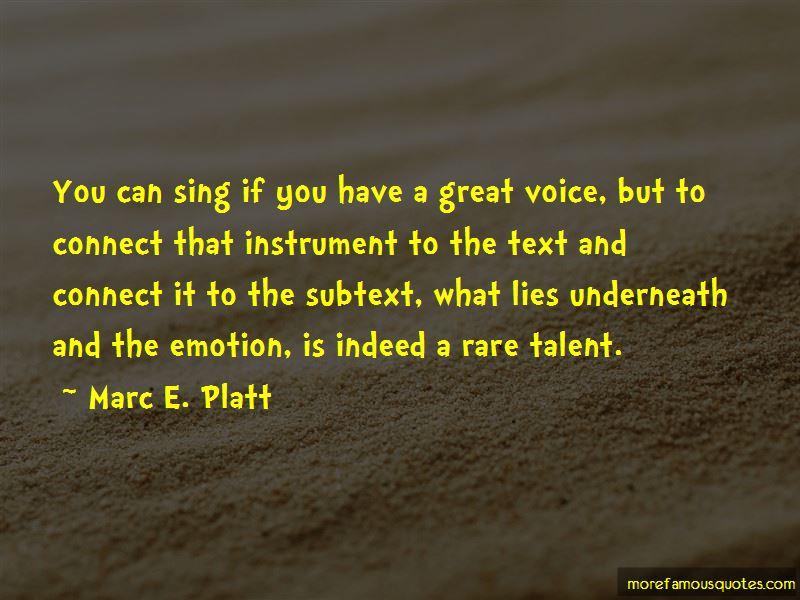 Marc E. Platt Quotes Pictures 2