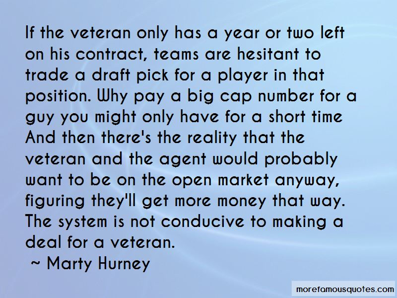 Marty Hurney Quotes