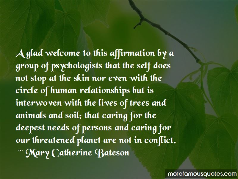 Mary Catherine Bateson Quotes Pictures 3