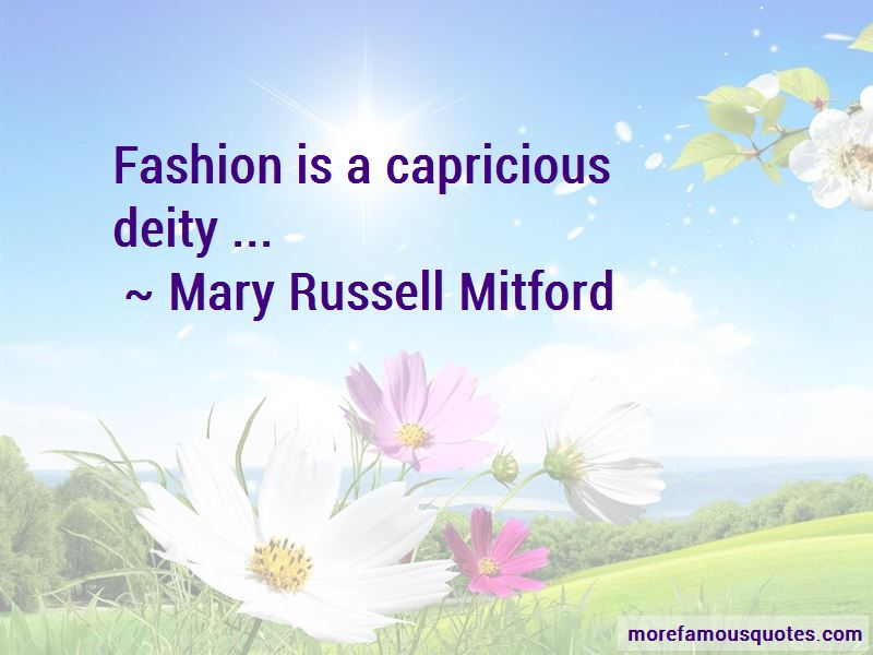 Mary Russell Mitford Quotes Pictures 2
