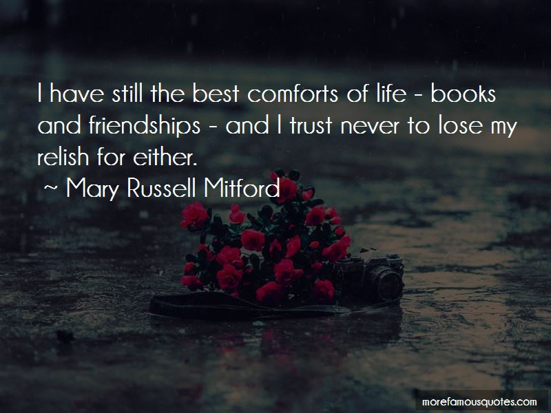 Mary Russell Mitford Quotes