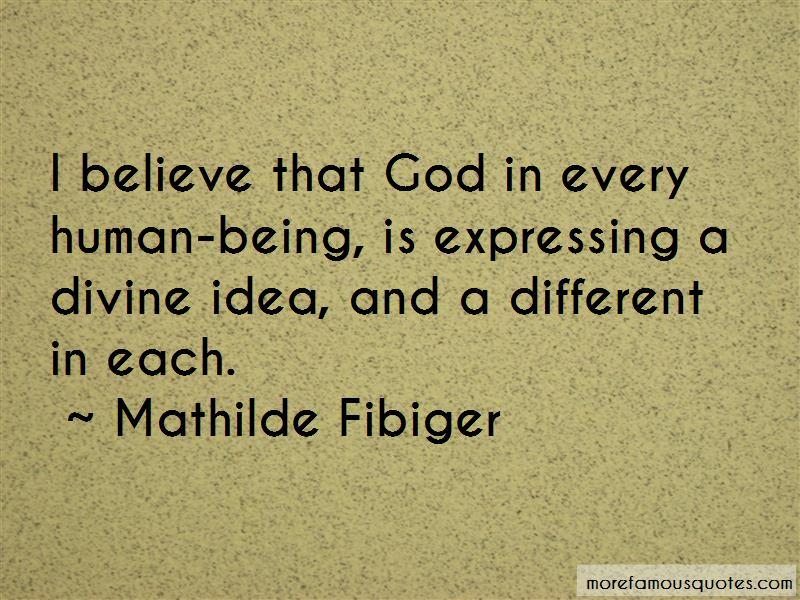 Mathilde Fibiger Quotes
