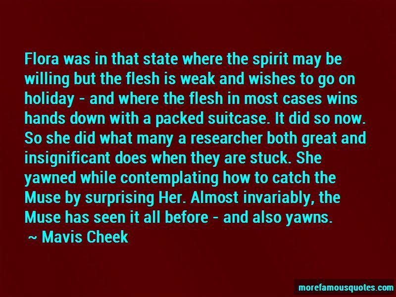 Mavis Cheek Quotes Pictures 2