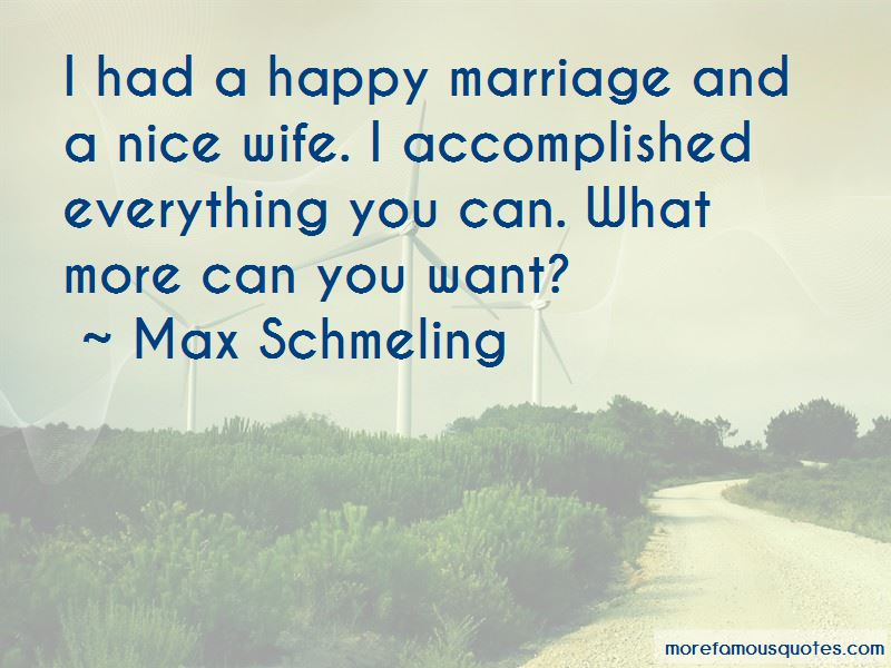 Max Schmeling Quotes