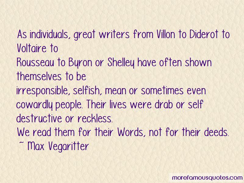 Max Vegaritter Quotes