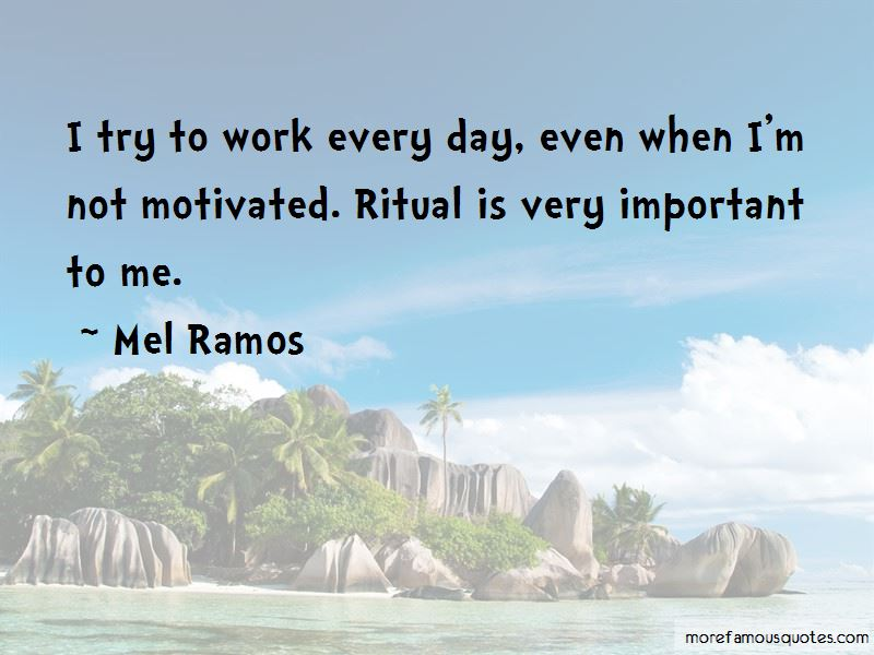 Mel Ramos Quotes