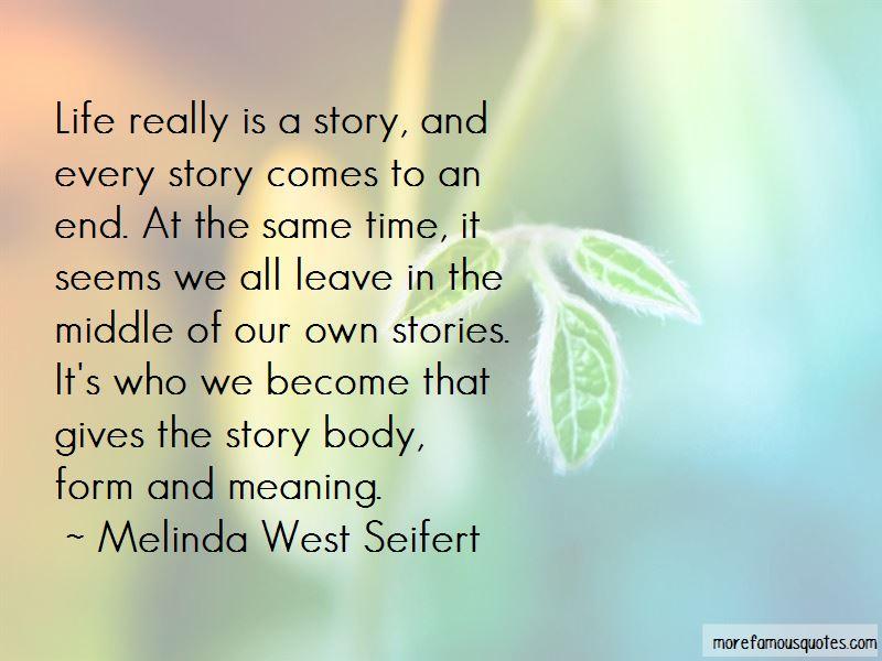 Melinda West Seifert Quotes Pictures 4
