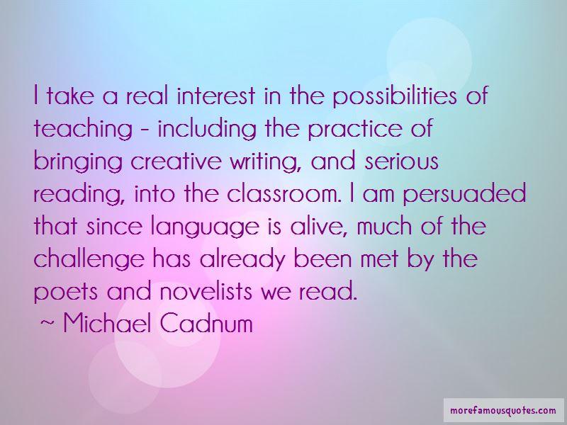 Michael Cadnum Quotes Pictures 4