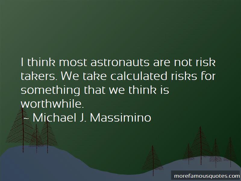 Michael J. Massimino Quotes Pictures 2