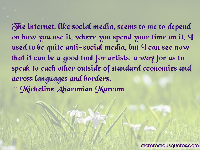 Micheline Aharonian Marcom Quotes Pictures 4