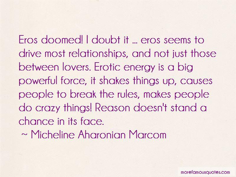 Micheline Aharonian Marcom Quotes