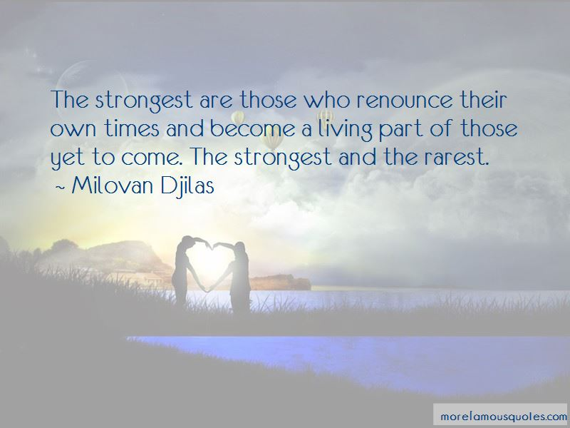 Milovan Djilas Quotes
