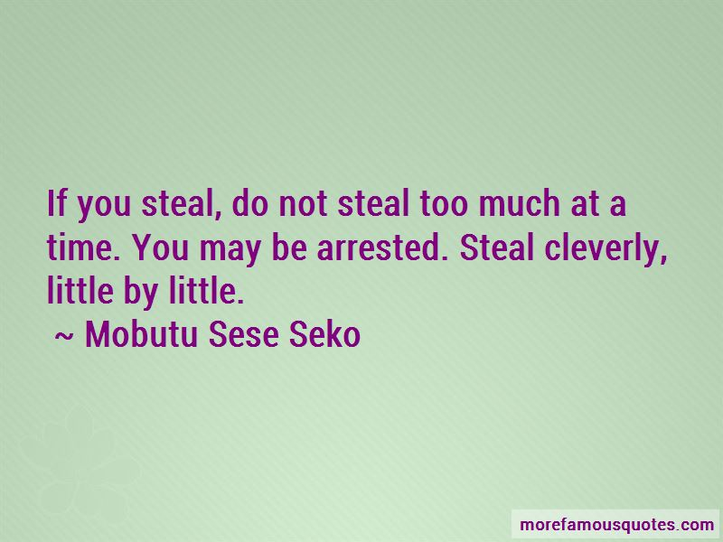 Mobutu Sese Seko Quotes Pictures 3
