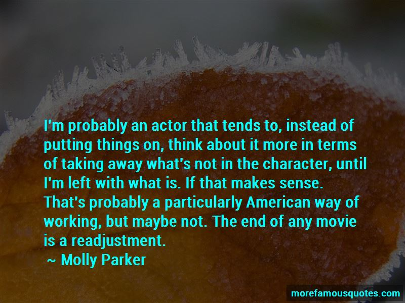 Molly Parker Quotes Pictures 3