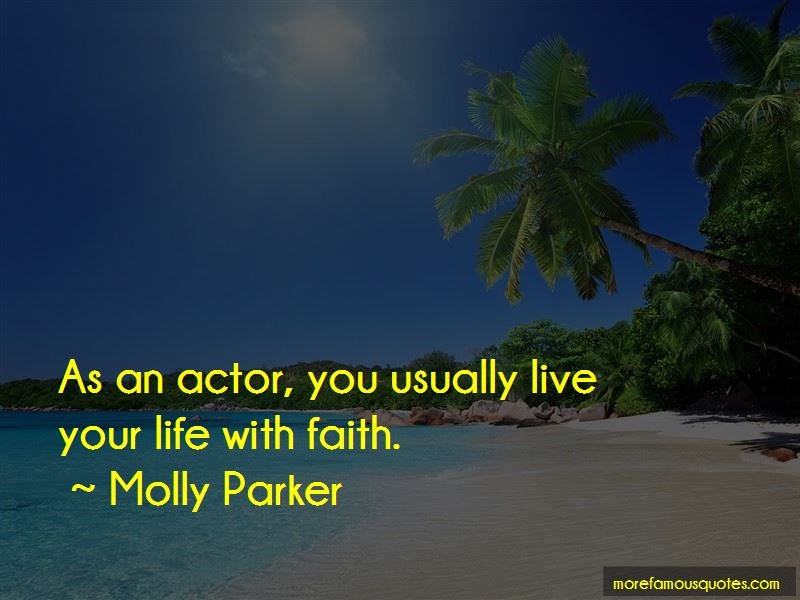 Molly Parker Quotes