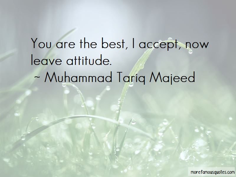 Muhammad Tariq Majeed Quotes Pictures 2
