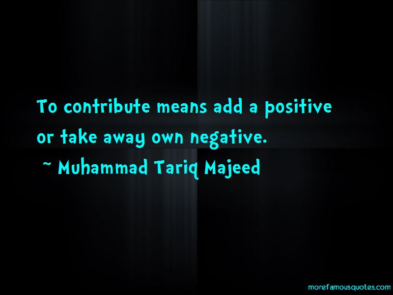 Muhammad Tariq Majeed Quotes Pictures 3