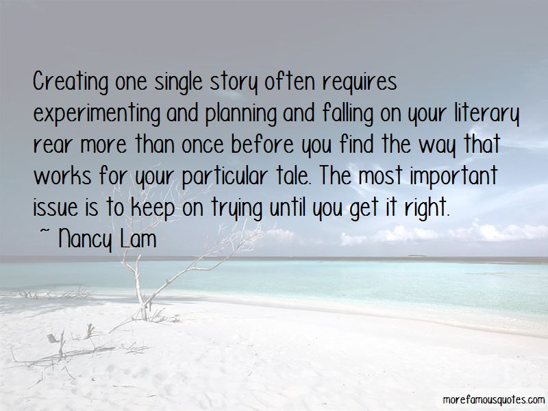 Nancy Lam Quotes Pictures 2