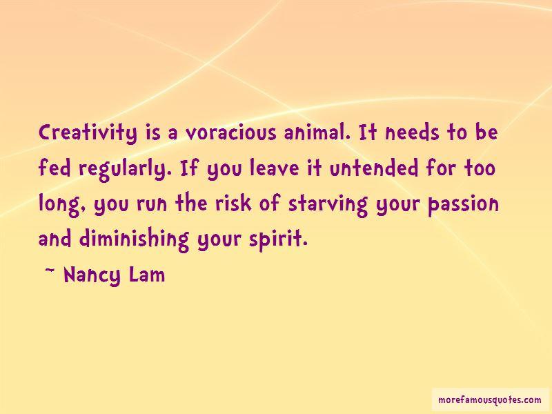 Nancy Lam Quotes