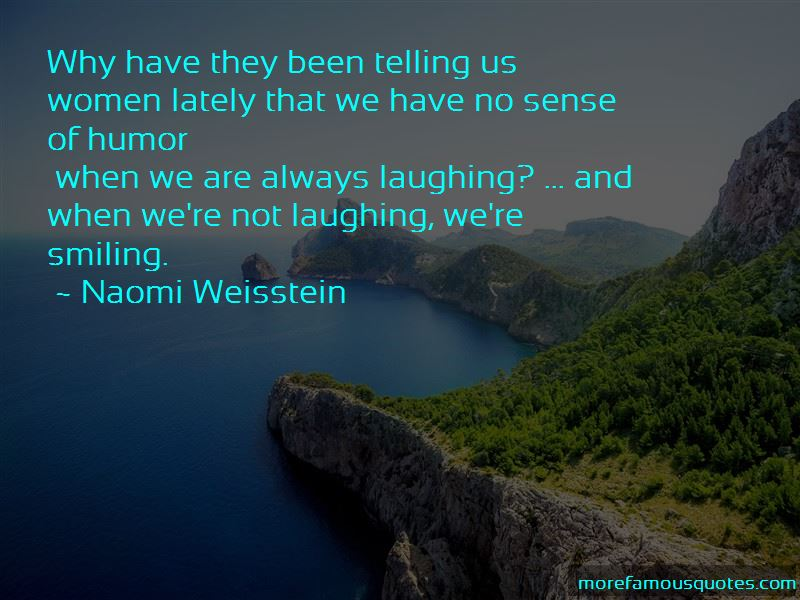 Naomi Weisstein Quotes Pictures 2