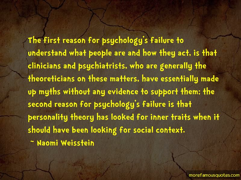 Naomi Weisstein Quotes Pictures 4