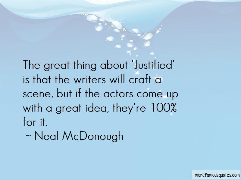 Neal McDonough Quotes