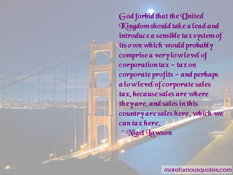 Nigel Lawson Quotes Pictures 3