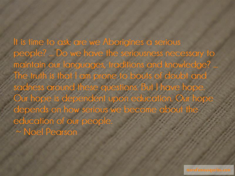 Noel Pearson Quotes Pictures 2