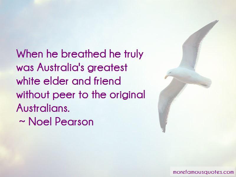 Noel Pearson Quotes