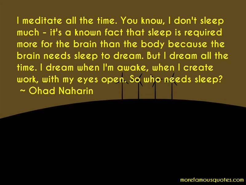 Ohad Naharin Quotes