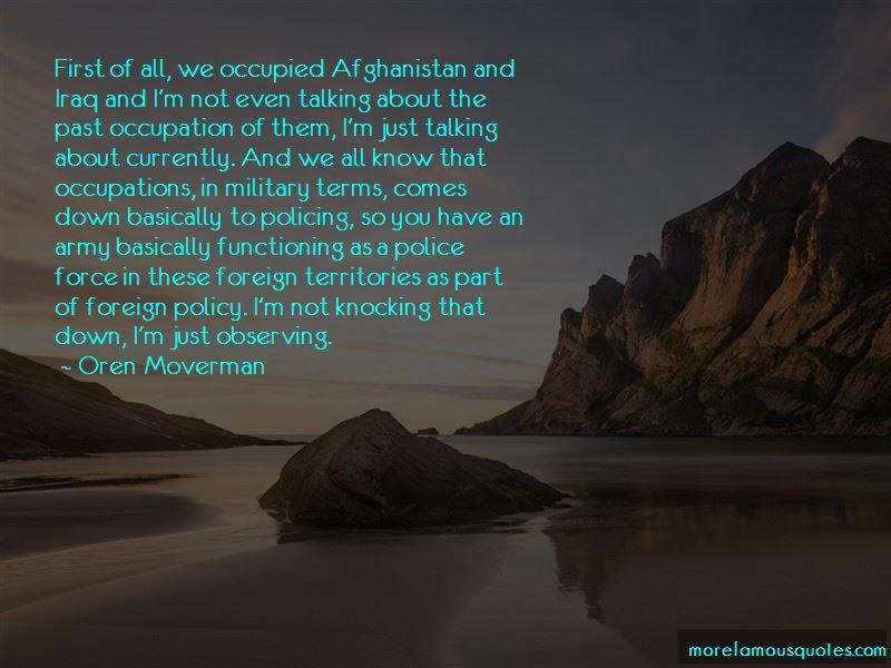Oren Moverman Quotes