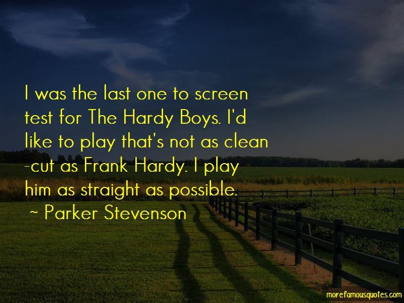 Parker Stevenson Quotes Pictures 2