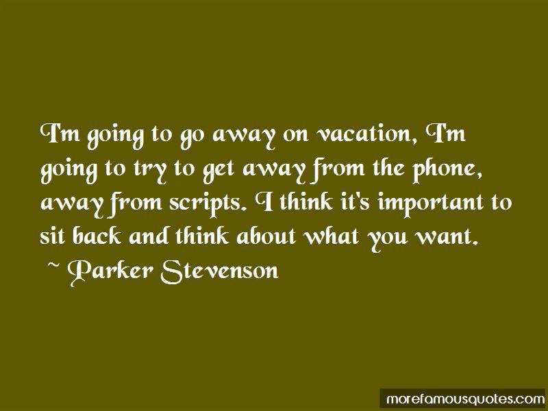 Parker Stevenson Quotes Pictures 4